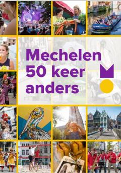 Copywriting pocketboekje 'Mechelen 50 keer anders'